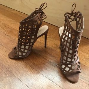 Express Lace Up Heels
